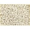 Seedbead 8/0 Metallic Silver Terra Color